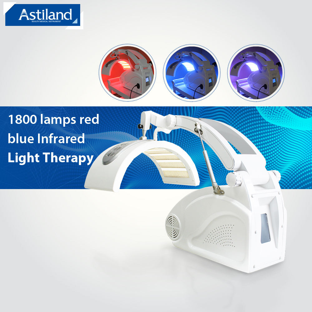 Led light therapy machine Photodynamic therapy equipment red light therapy for skin whitening treatment