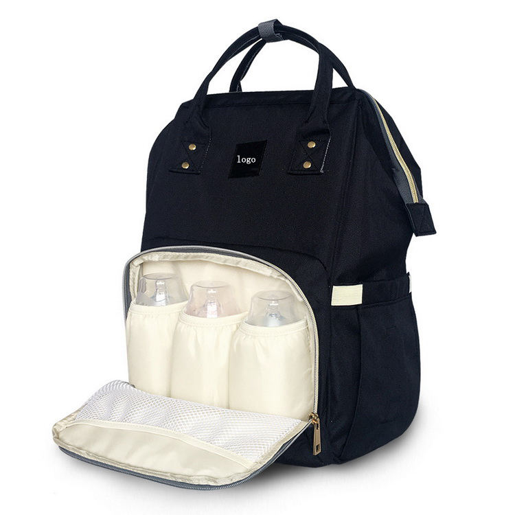 Useful Large Capacity Multi-function Diaper Bag With Urine Pad Backpack
