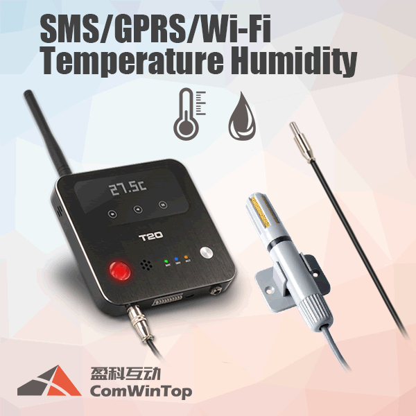 Wireless 3g Gsm Sms Gprs Wifi Temperature Humidity Sensor Alarm Control Monitor Data Logger