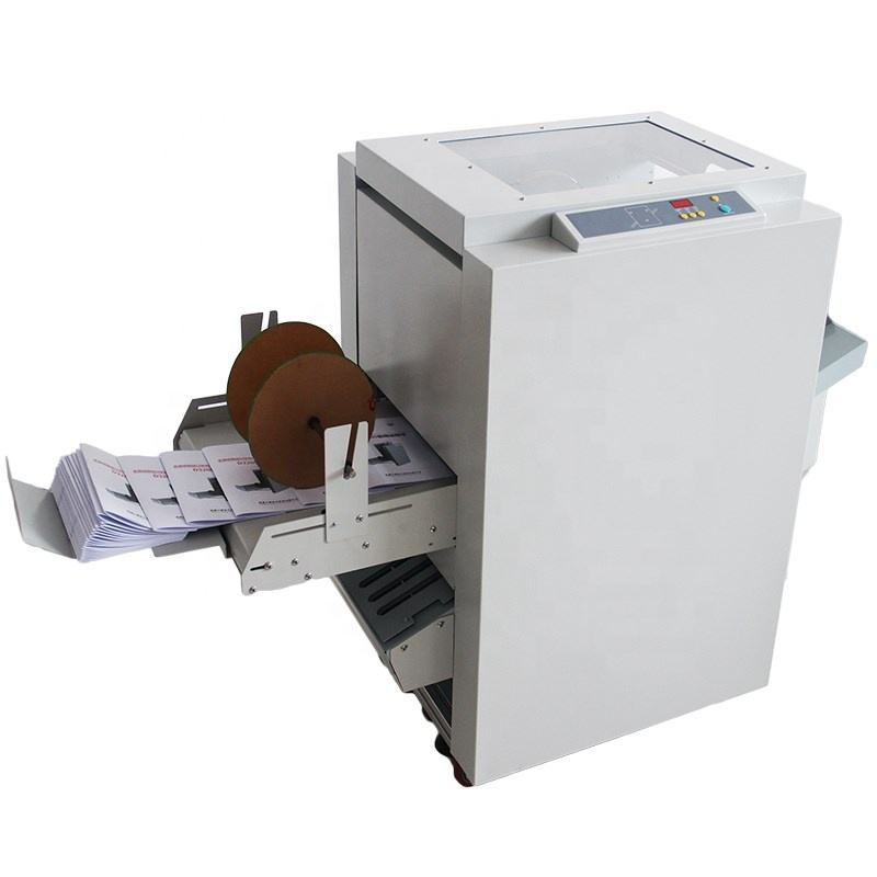 WD-170 ) 2020 new automatic paper folding machine paper folder best selling booklet paper staple and folding machine