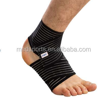 China factory Sporting goods M192 nylon spandex ankle support