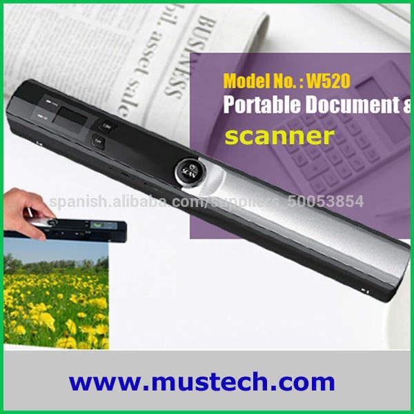 de alta resolución portable <span class=keywords><strong>escáner</strong></span> de mano