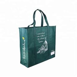 OEM Production Custom Color Bag Eco Friendly Recyclable Grocery Non Woven Shopping Carry Bag
