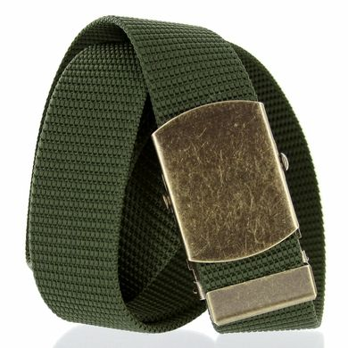 GB45 Military Army Canvas Web Belt 1. 25 inches or 1.5 inches vintage antique style old copper color heavy duty belt