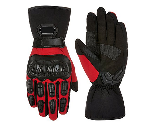 2018 Best Yellow Black Leather Motorcycle Racing Gloves for Summer