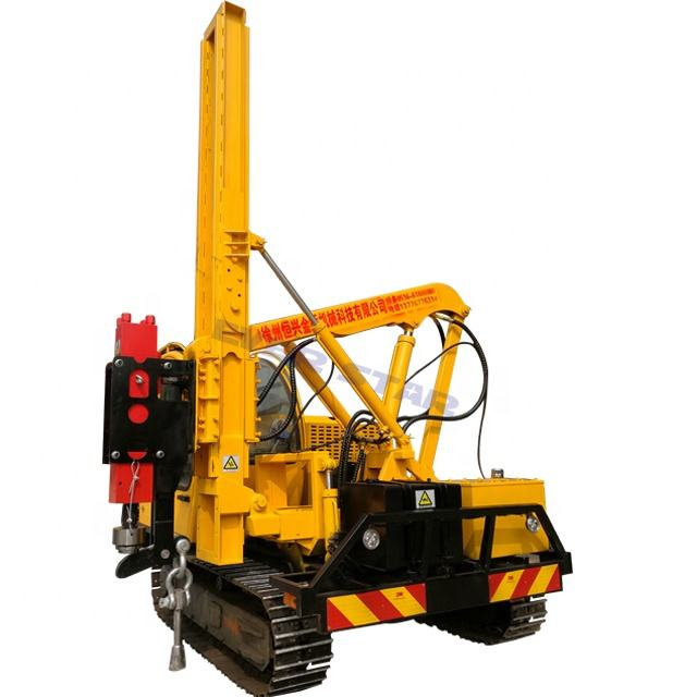 crawler type impact drilling pile driver diesel engine with two cylinders