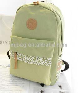 中国ファッション大きい2014年熱い販売cavas学校・スポーツ/旅行用バックパックの袋