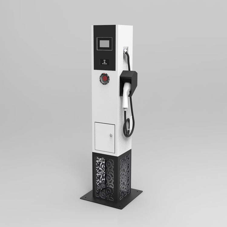 Manufacturer Supply 22KW AC EV Public Fast Electric Vehicle Quick Charge Stations