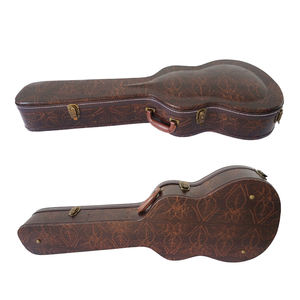 wholesale aiersi brand hard shell guitar casa Professional Manufacturer china made leather musical guitar case for sale