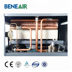 20hp soundproof oil-free air compressor for medical or industrial oxygen generator