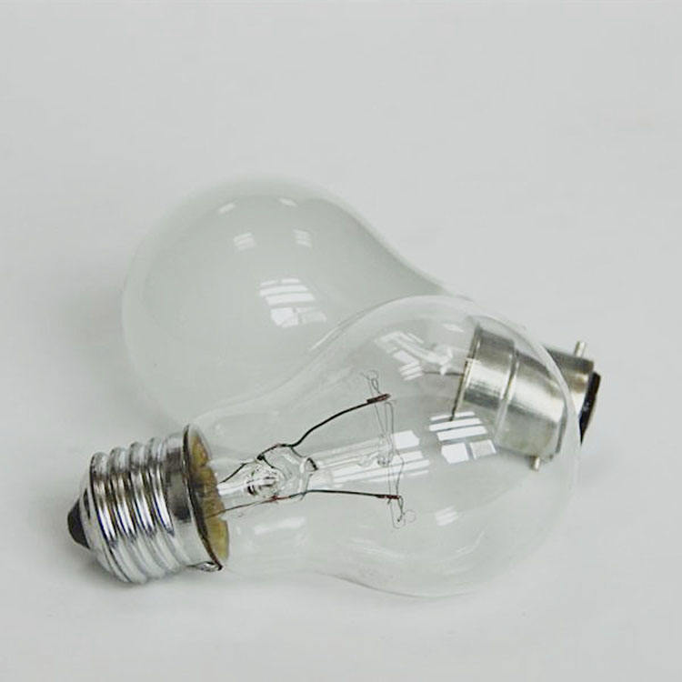 Factory price E27 high bright incandescent bulb light 110/220V 25W-200W traditional incandescent light