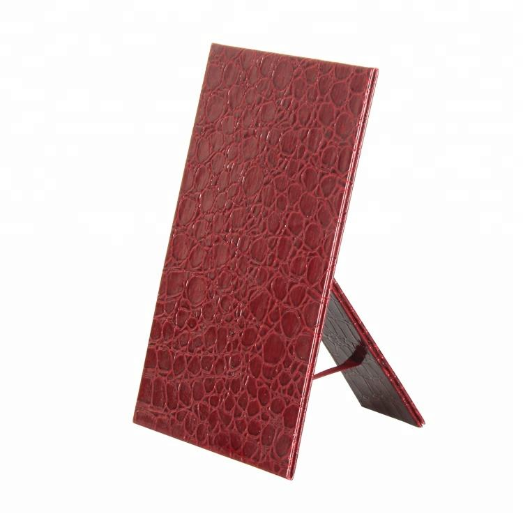 Croco PU Leather Foldable Photo Frame