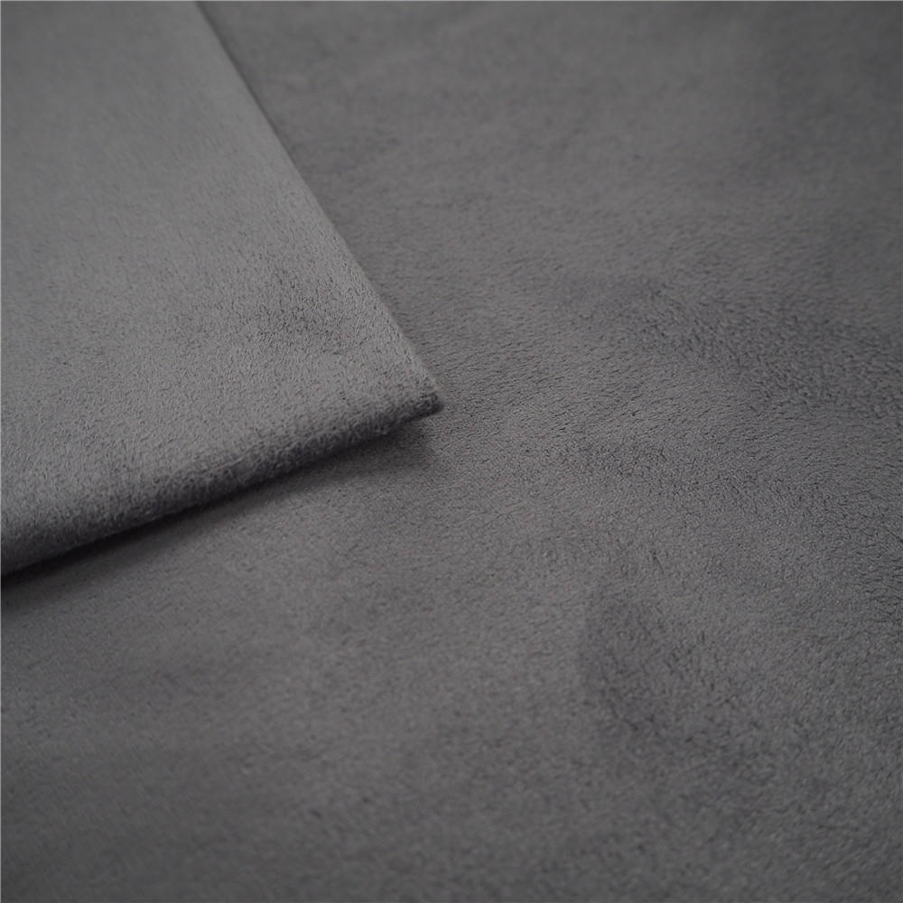 microfiber water resistant velvet tricot washable suede fabric