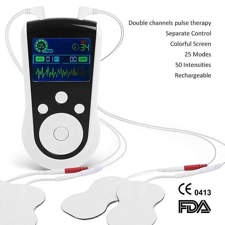 EMS аккумуляторная терапия устройство для спины Sciatica боли рельеф