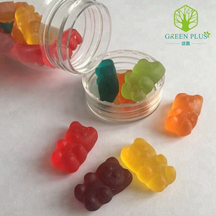 fruit taste Halal gummy candy jelly candy halal gelatin vitamin gummy Private label beauty gummy slimming gummy bear candy OEM