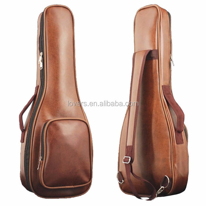 (High) 저 (Quality Genuine Leather Guitar Gig Bag