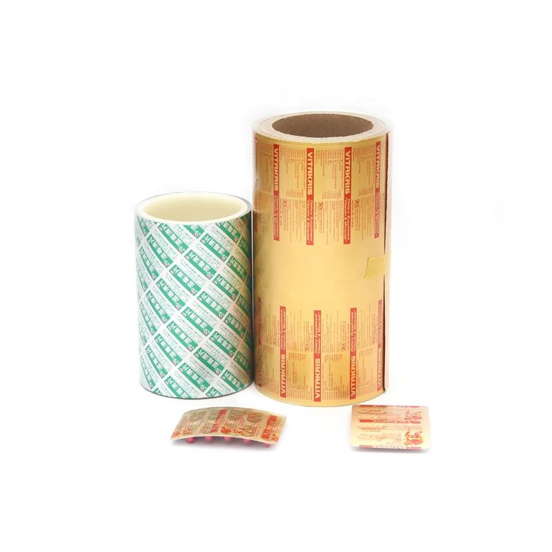 Pharmaceutical half hard aluminum foil rolls blister packaging