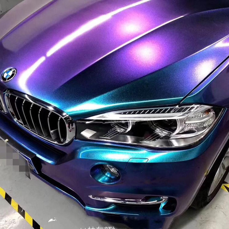 New Product 1.52*18m High Glossy Car Body Wrapping Chameleon Pearl Vinyl Diamond Glitter Vinyl