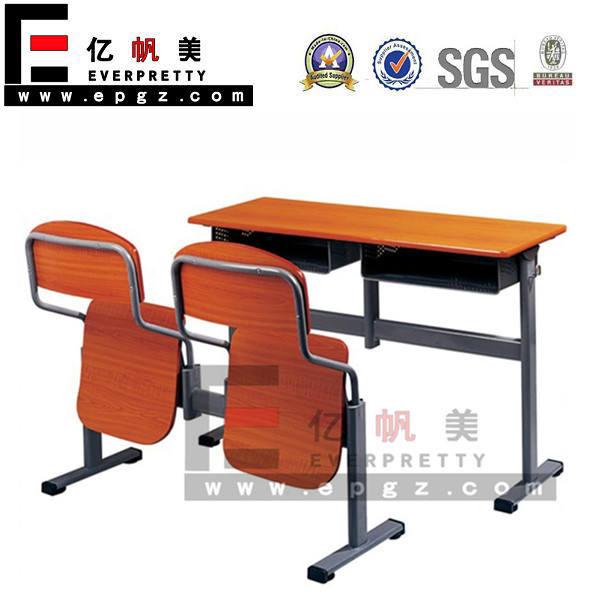 Mobília da sala de aula, baratos madeira mesa e cadeiras, estudo da criança mesa e cadeira
