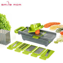 Smile mom Food Vegetable Cutter Adjustable Kitchen Grater Slicer Professional Mandoline