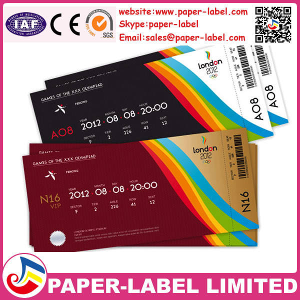 Verlosung ticket/Coupon Ticket Rollenpapier