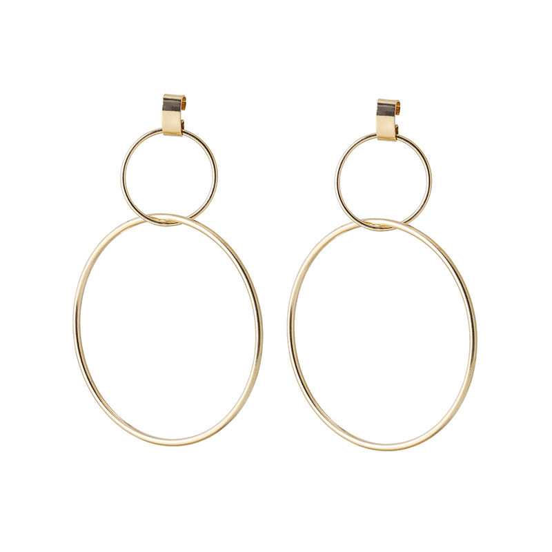 Yttria most popular stylish ladies wedding hoop earrings gold hoop