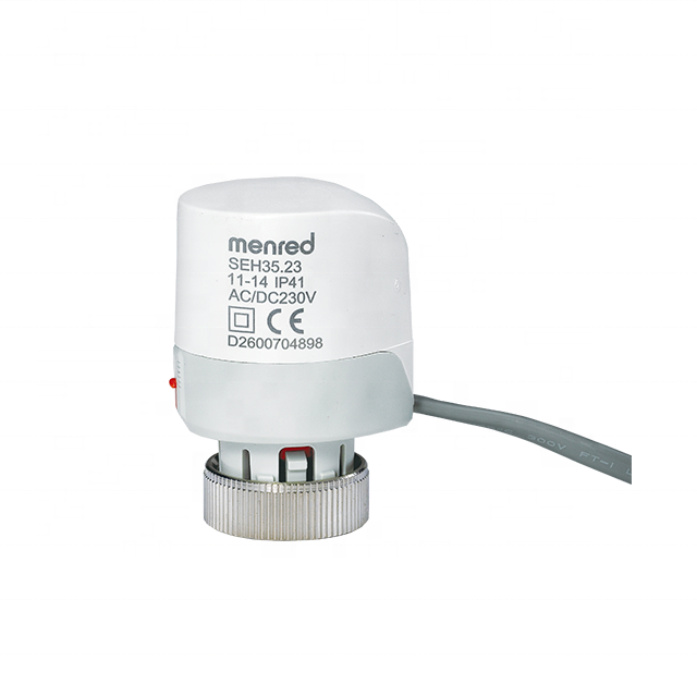 Menred CE certified normally closed M30*1.5 SEH35 electro thermal actuator