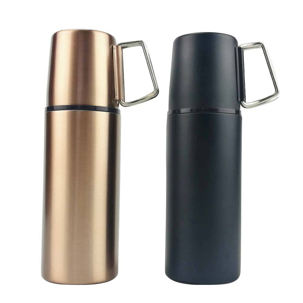 SEDEX BSCI 350ml 20oz Stainless Steel 2 Handle Mug Best Travel Tumbler Coffee Thermos