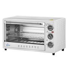 23L Basic function electric oven 4 stages heating elements controller household pizza oven