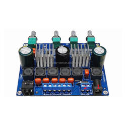 Factory price TPA3116D2 2.1 class D audio power amplifier module DC12-24V 2X50W+100W accept custom-made