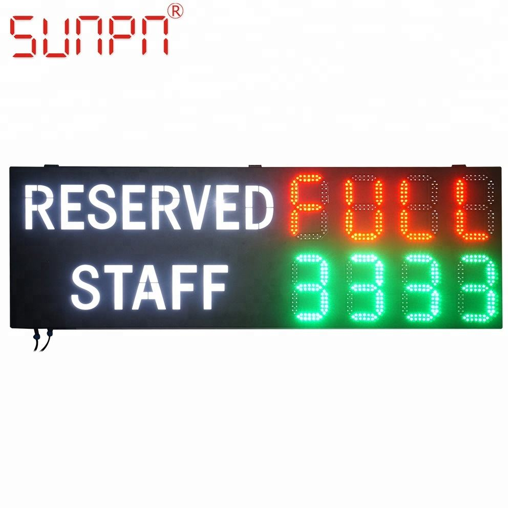 Ottawa gas station/seven segment/fuel price system sign/ changer/board/screen