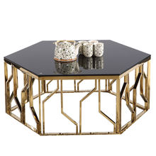 glass coffee table round stainless steel black cheapest living room coffee table