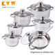 Kitchen Products 2018 Stainless Cookware Set and Saucepan Sets Kitchen