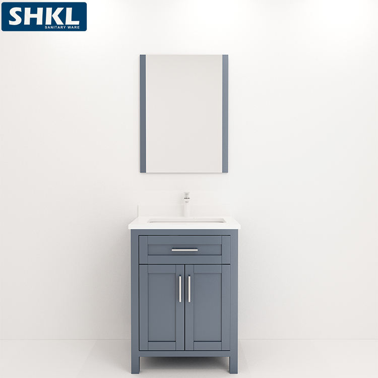 Cheap 201 ss china furniture manufacturer hotel modern bathroom vanity