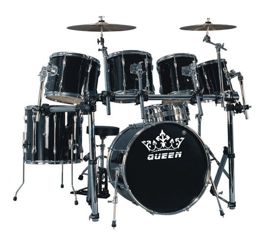 High-grade 7-pc Drum Set (Maple)