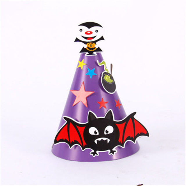 2 Pcs Halloween Witch Hat Fashion Spider Patterned Funny Party Hat for Halloween
