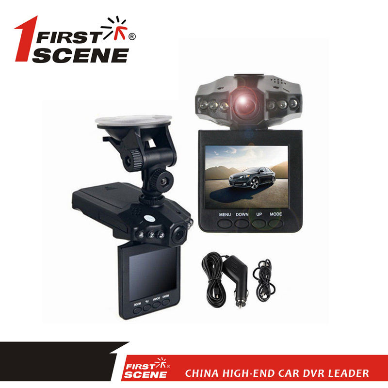 Firstscene Official f198 2.5 Inch LCD HD Car Dash DVR IR Camera Vehicle Video Recorder Cam Night Vision
