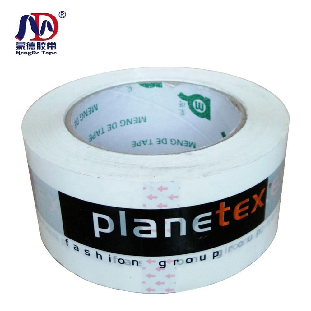 High quality BOPP material self-adhesive plastic tapes packaging single sided custom logo printed packing tape