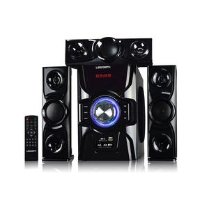 Diskon baru 3.1 surround speaker home theater dengan bt fm