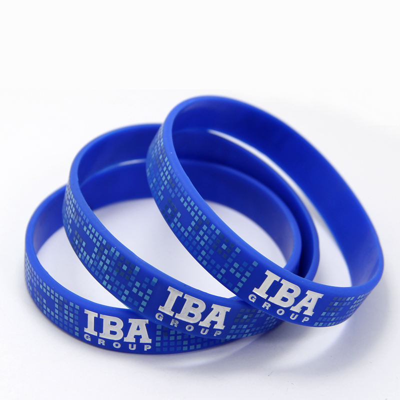 Cheap Custom Men Bracelet Rubber Bracelet Bulk