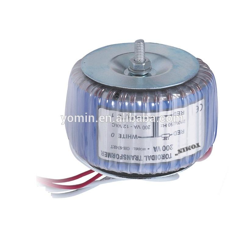 High Quality OEM 30W to 5000W Copper Wire Isolation Toroidal Transformer