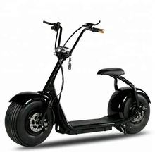 Fat Tire eec approval electric scooter with pedals China with Removable Battery citycoco 1500 w motorcycle