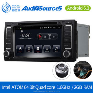 Android 6.0.1 Car DVD Player for VW Touareg Multivan T5 GPS Navigation System with Bluetooth Dual-zone Navi