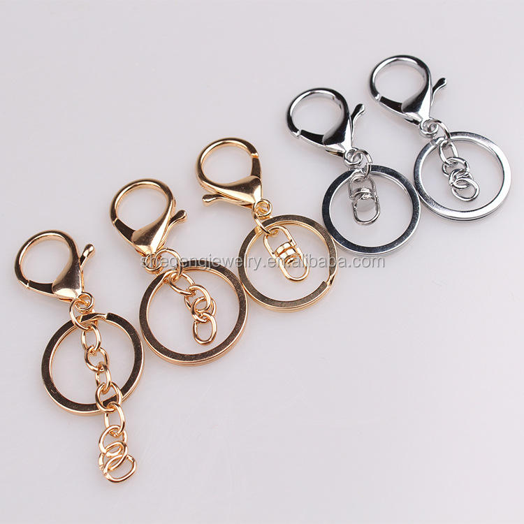Lobster Clasps Swivel Trigger Clips Bronze Key Rings