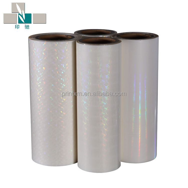 BOPP/PET hologram/holographic/laser thermal lamination film