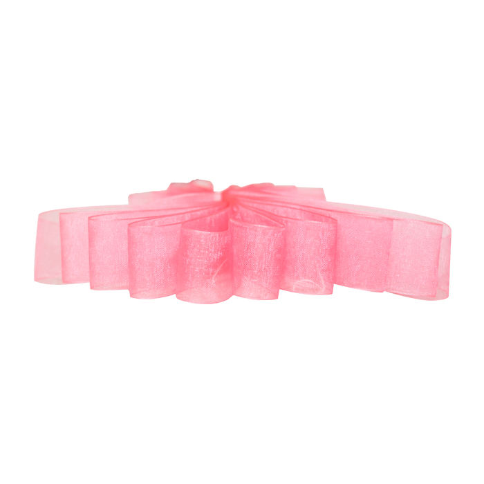 Factory Solid Color Gift Packing Organza Silk Ribbon