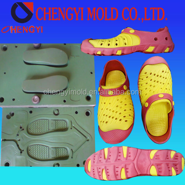 china factory innovation best cast aluminium injection mould price for bicolor eva clog shoe mold