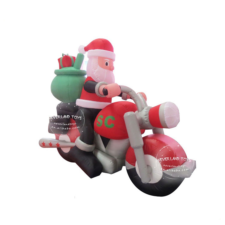 NEVERLAND TOYS Advertising Old Man Inflatable Christmas
