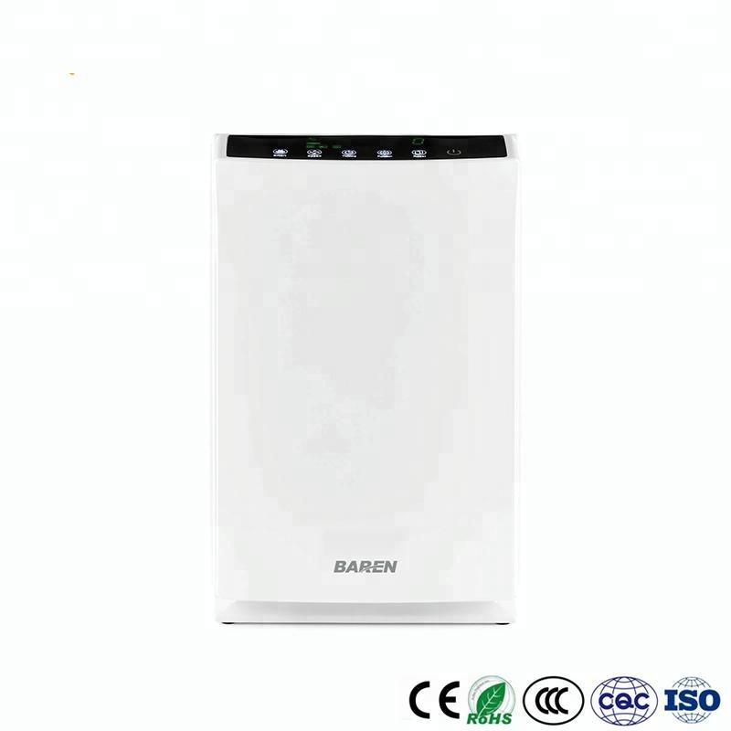 Portable PM2.5 office commercial air cleaner with multi-hepa