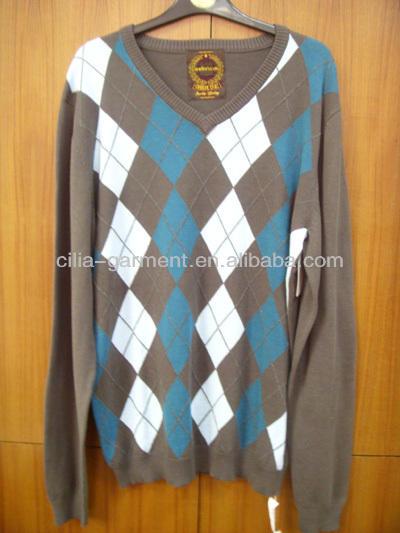 Los hombres suéter, suéter de manga larga, kintweat para hombres